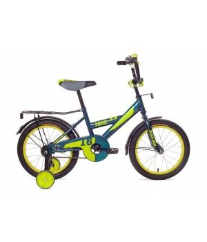 Велосипед детский Black Aqua 1602 морская волна, колесо 16