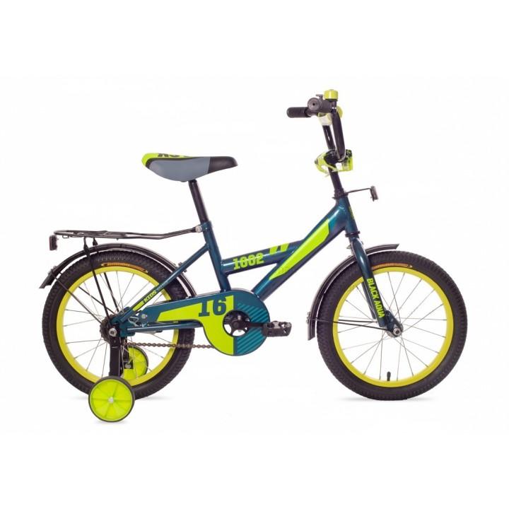 Велосипед детский Black Aqua 1802 морская волна, колесо 18