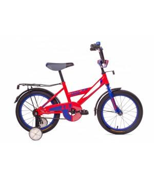 Велосипед детский Black Aqua 1802 красный, колесо 18