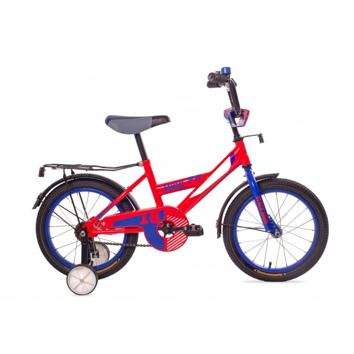 Велосипед детский Black Aqua 1602 красный, колесо 16
