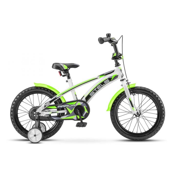 Велосипед детский Stels Arrow 16, колесо 16, рама 9.5, салатовый