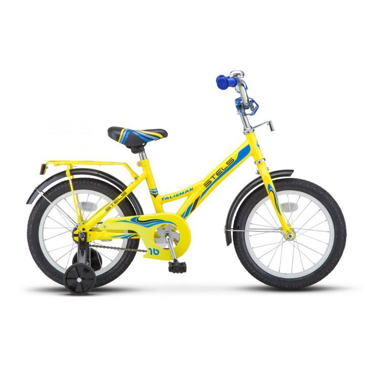 Велосипед детский Stels Talisman 16, колесо 16, рама 11, желтый