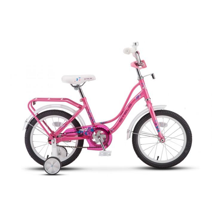 Велосипед детский Stels Wind 16, колесо 16, рама 11 розовый