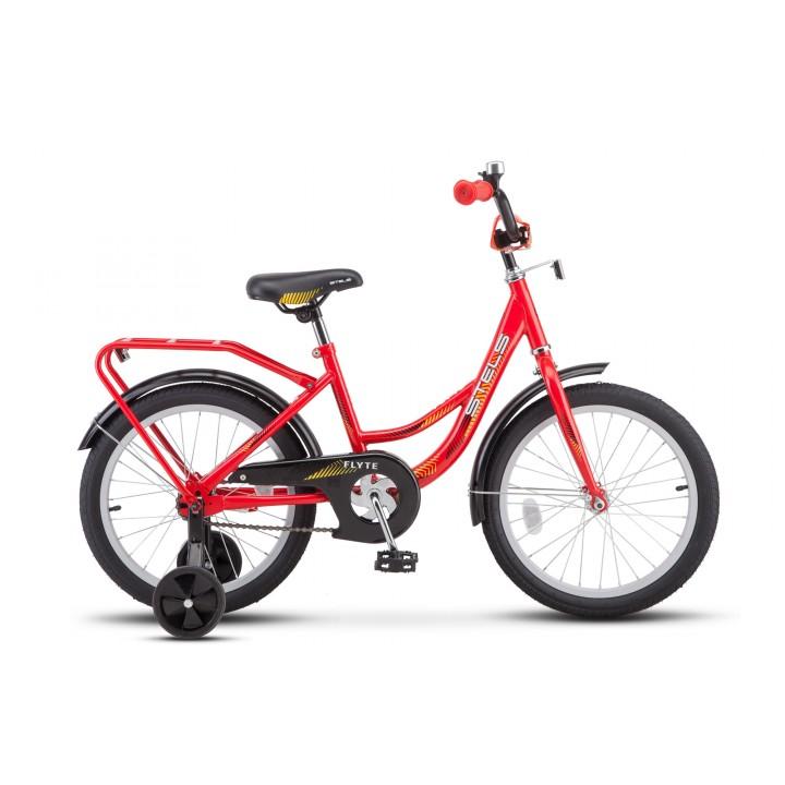 Велосипед детский Stels Flyte 18 2019г, колесо 18, рама 12, красный