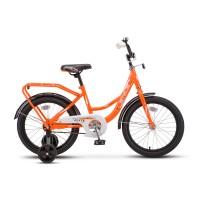 Велосипед детский Stels Flyte 18 2019г, колесо 18, рама 12, синий