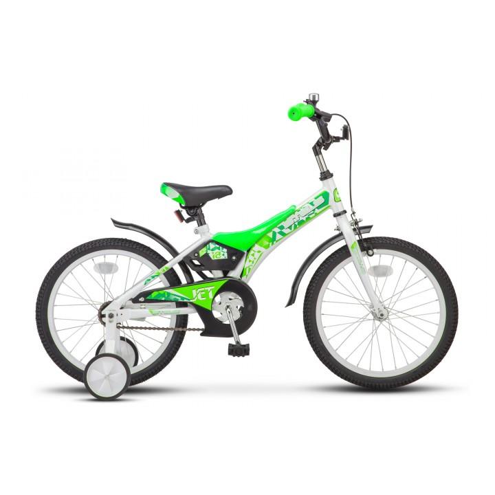 Велосипед детский Stels Jet 18 2019г, колесо 18, рама 10, салатовый