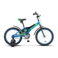 Велосипед детский Stels Jet 18 2021г, колесо 18, рама 10, салатовый
