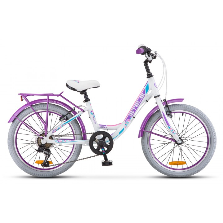 Велосипед детский Stels Pilot 230 Lady, колесо 20, рама 12