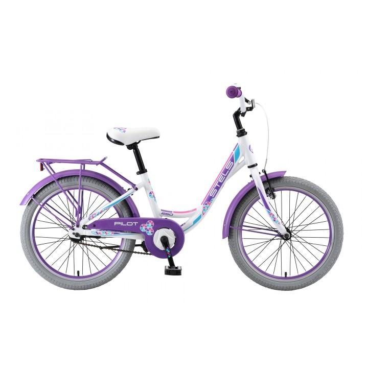 Велосипед детский Stels Pilot 250 Lady, колесо 20, рама 12
