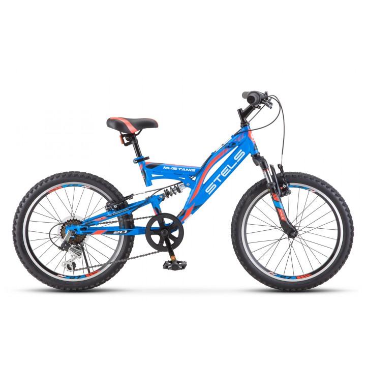 Велосипед детский Stels Mustang, колесо 20, рама 13