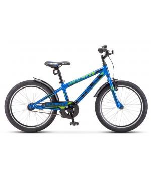 Велосипед детский Stels Pilot 200 Boy 2020г, колесо 20, рама 11