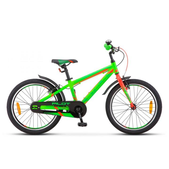 """Велосипед детский Stels Pilot 250 Gent 20"""" V010, колесо 20, рама 11, зеленый"""