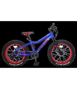 """Велосипед подростковый Fat Bike Tech Team GARET MD 20""""  disc, колесо 20"""