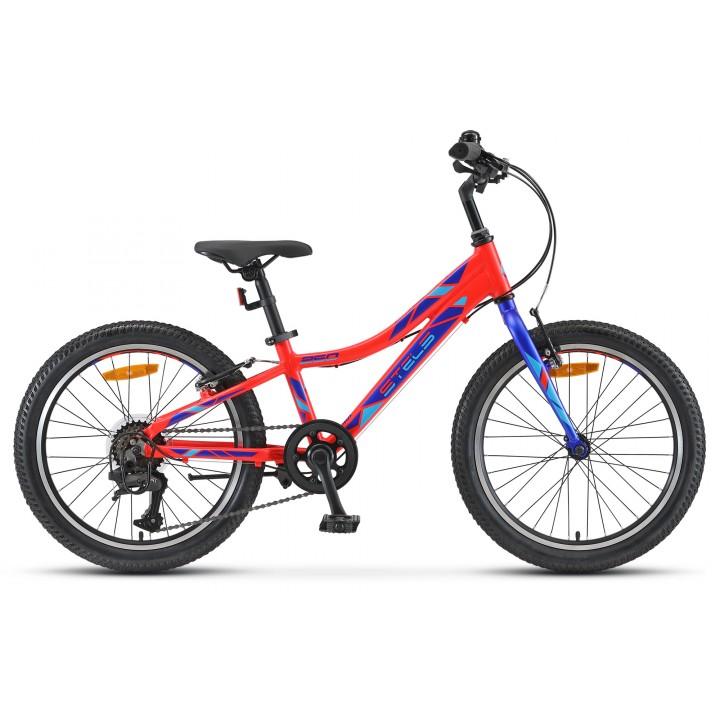 """Велосипед детский Stels Pilot 250 Gent 20"""" V010, колесо 20, рама 10, красный"""
