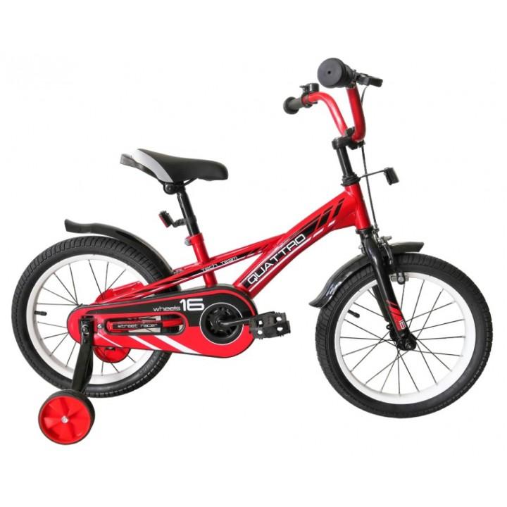 Велосипед детский Tech Team QUATTRO 2020, колесо 20