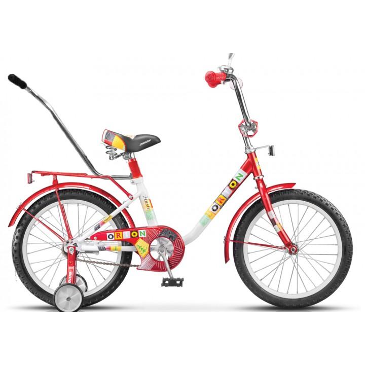 Велосипед детский Stels Flash 14 с ручкой, колесо 14, рама 10