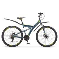 """Велосипед горный Stels Focus MD 27,5"""" 21-sp V010 дисковые тормоза"""