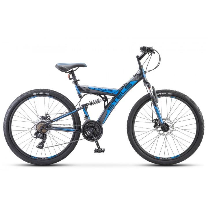 """Велосипед горный Stels Focus MD 26"""" 21-sp V010 дисковые тормоза"""