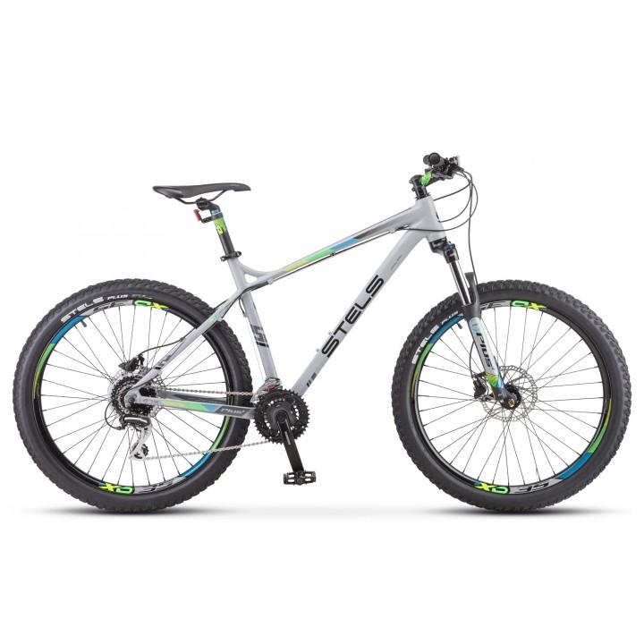Велосипед горный Stels Adrenalin D 2020г. колесо 27,5+ V010 дисковые гидравлические тормоза
