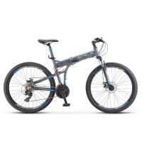 Велосипед горный складной Stels Pilot 970MD disc 2020г. дисковые тормоза