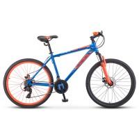 Велосипед горный Stels Navigator 500 MD disc 2021г. колесо 26 дисковые тормоза