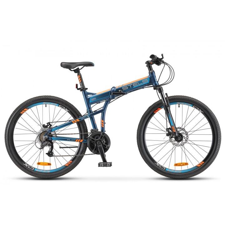 Велосипед горный складной Stels Pilot 950MD disc 2021г. дисковые тормоза