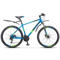 Велосипед горный Stels Navigator 645 D disc 2021г. дисковые тормоза