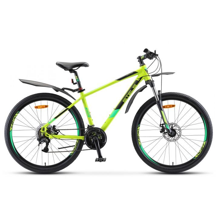 Велосипед горный Stels Navigator 645 MD disc 2021г. дисковые тормоза