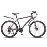 Велосипед горный Stels Navigator 620 D 2020г. дисковые тормоза