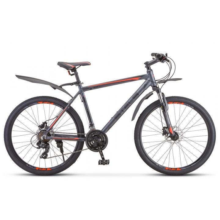 Велосипед горный Stels Navigator 620D 2020г. дисковые тормоза