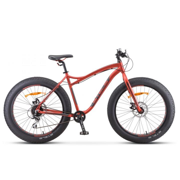 """Велосипед спортивный повышенной проходимости Stels Аggressor MD 26"""" FAT BIKE 2020г колесо 26"""""""