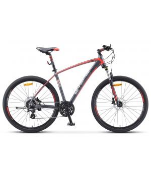 Велосипед горный Stels Navigator 750 D disc, колесо 27,5 дисковые гидравлические тормоза