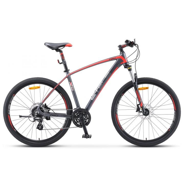 Велосипед горный Stels Navigator 750 D disc колесо 27,5 дисковые гидравлические тормоза
