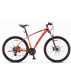 Велосипед горный Stels Navigator 750 МD disc 2021г. колесо 27,5 дисковые гидравлические тормоза