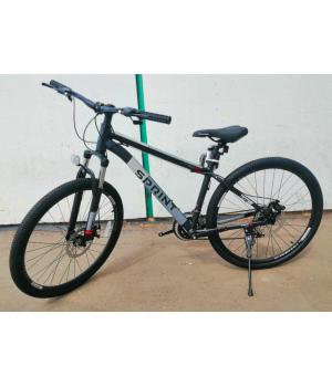 Велосипед горный Tech Team SPRINT 27,5 MD черный 2021г. колесо 27,5, c дисковыми тормозами