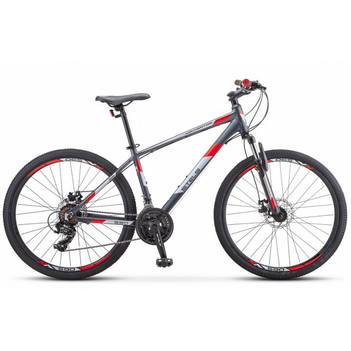 Велосипед горный Stels Navigator 590MD 2020г. дисковые тормоза