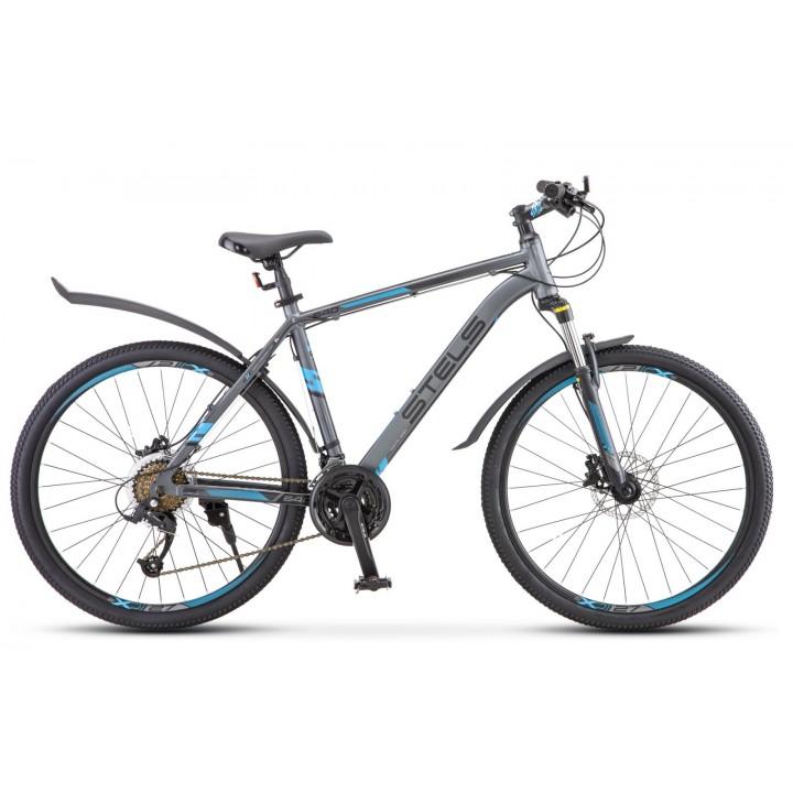 Велосипед горный Stels Navigator 640 D disc 2019г. дисковые гидравлические тормоза