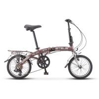 Велосипед складной Stels Pilot 370 колесо 16, 6 скоростей