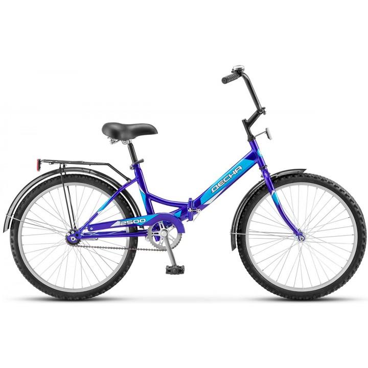 Велосипед складной Десна 2500 стальная рама колесо 24, 1 скорость