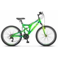 Велосипед подростковый Stels Mustang колесо 24 передний и задний амортизатор