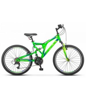 Велосипед подростковый Stels Mustang MD колесо 24 передний и задний амортизатор