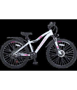 Велосипед горный женский Tech Team KATALINA 26 2021 белый 2021г. колесо 26, c дисковыми тормозами