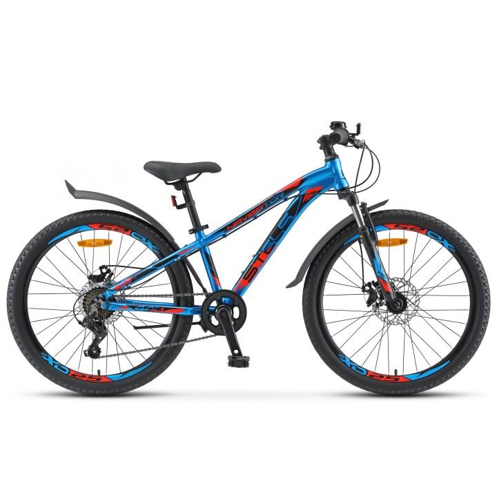 Велосипед подростковый Stels Navigator 440MD колесо 24, с дисковыми тормозами