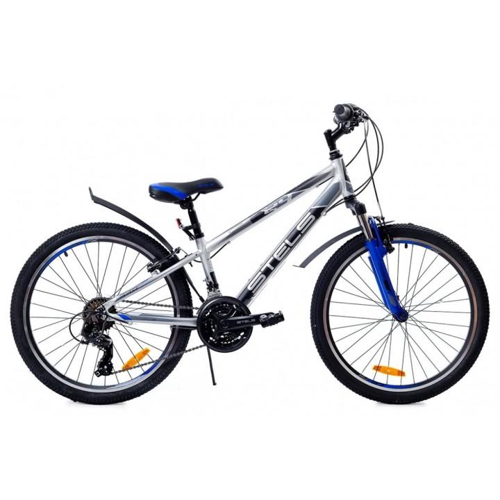 Велосипед подростковый Stels Navigator 440 V030 2020г. колесо 24, синий