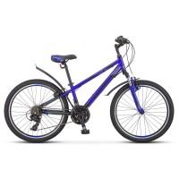 Велосипед подростковый Stels Navigator 440 V030 2019г. колесо 24, лайм