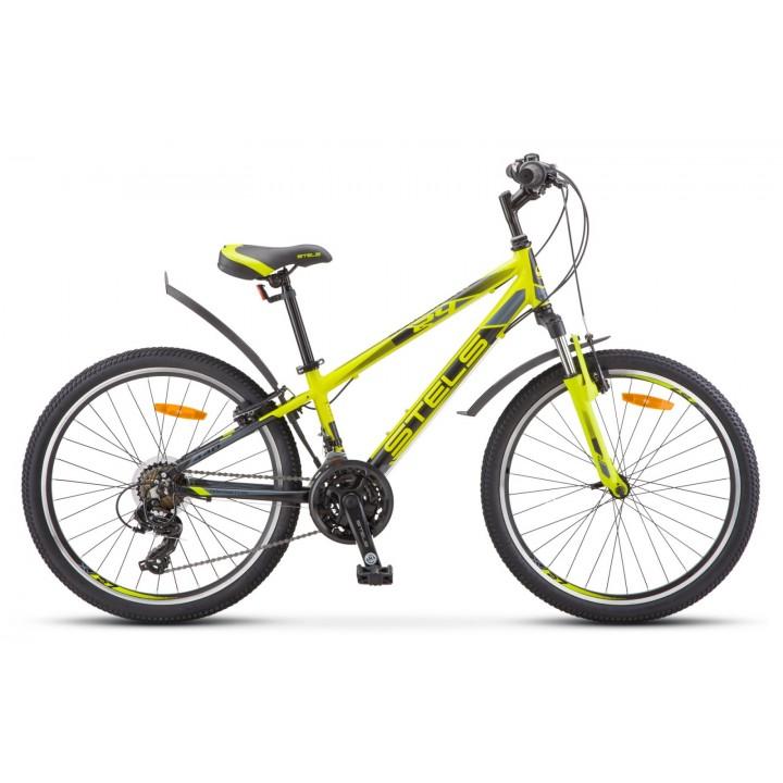 Велосипед подростковый Stels Navigator 440 V030 2020г. колесо 24, лайм