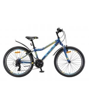 Велосипед подростковый Stels Navigator 410 V010 2020г. колесо 24