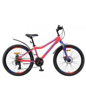 Велосипед подростковый Stels Navigator 410 MD V010 2021г. колесо 24