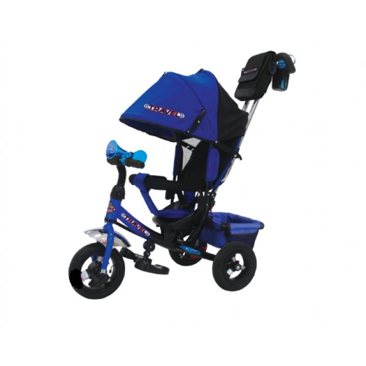 Велосипед детский 3х колесный с ручкой Trike TTA2B/ ТТА2R/ ТТА2О c накачивающимися колесами