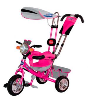 Велосипед детский 3х колесный с ручкой Trike ST1MD